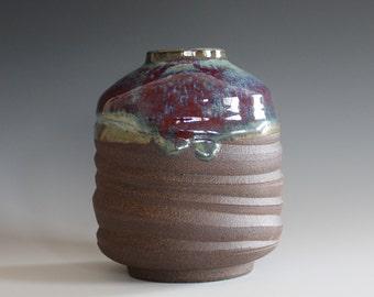 Ceramic Vase, Pottery Vase, flower vase, Ceramics and Pottery, stoneware, handmade vase, modern vase, flower pot
