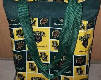 Carry-All Bag: Baylor print