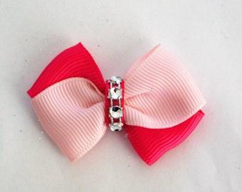 Dog Bows pink dog bows