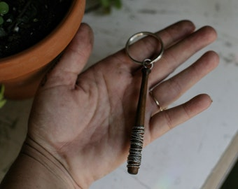 Lucille Bat Key Chain
