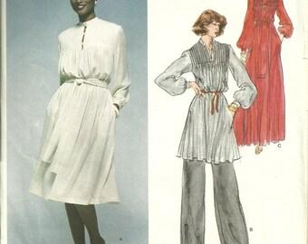 Vogue Paris Original Sewing Pattern 1567, Christian Dior Dress, Tunic, Pants Size 10 Bust 32