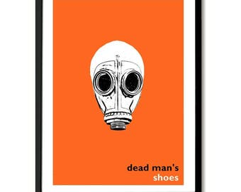 Dead Man's Shoes inspired Film Poster Art Print