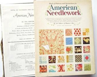 American Needlework Patterns, Vintage 1963 Woman's Day