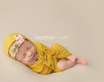 Newborn Photography Hooded Wrap- Several Color Choices