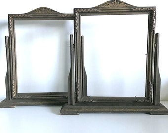 art deco swing frames set of 2