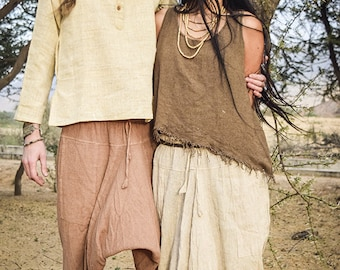 3/4 Afghani pants ~ Unisex ~