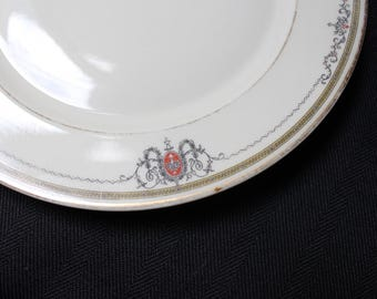 "H and C SELB Bavaria Heinrich and Co 8"" Salad or Dessert Plates ~ Set of 4"