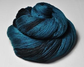 Nocturnal maelstrom - Merino/Cashmere Fine Lace Yarn