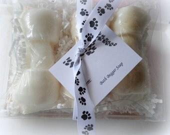 Pet Shampoo Gift Set, Bath Beggars Rawhide, Set of 3 Bars, Pet Soap