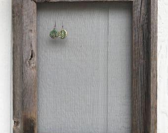 Earring jewelry display screen Barnwood Colorado