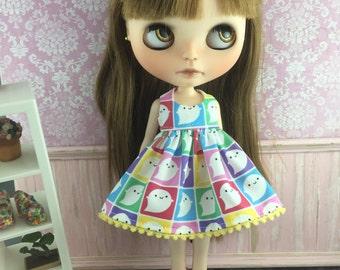 Blythe Dress - Rainbow Ghosts