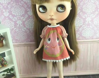 Blythe Smock Dress - Donut