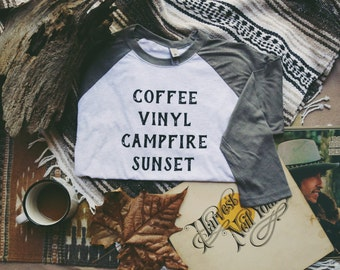 The Coffee Raglan - Unisex