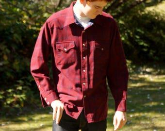 Men's Pendleton Wool Western Shirt