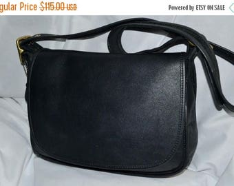 On Sale Coach~Bonnie Cashin ~Bag Patricia's Legacy  Excellent ~Fits Ipad Perfectly~Black Leather