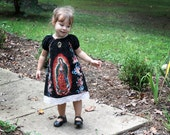 Our lady of Guadalupe Mexican girls dress Sizes 2T to 8