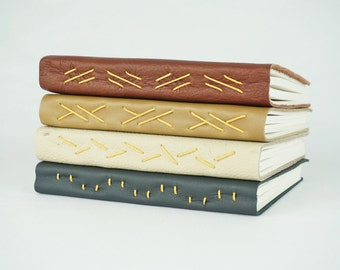Leather Journal, Leather Notebook, Leather Sketchbook, Travel Journal, Travelers notebook