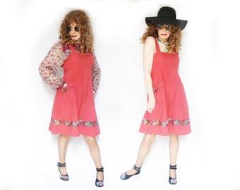 Short Boho Dress, Gypsy Short Dress, Mid Length Dress, Boho SunDress, Boho Jumper Dress, Gypsy Summer Dress, Festival Sundress, 60s Vintage