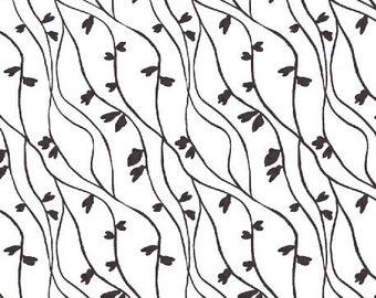Lilla Plint Vines White Slate 42408-5 by Lotta Jansdotter for Windham Fabrics