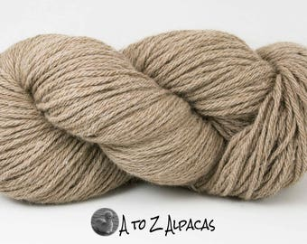 SUPER-SIZED SKEIN! Royal Baby Alpaca Yarn Bulky Weight Natural Fawn 200 grams Super sized