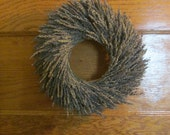 Dried Lavender Wreath // 14 inch // Ready To Ship // FREE SHIPPING