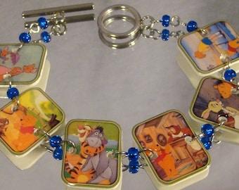 Winnie the Pooh Bracelet - Cartoon Character Jewelry - Nostalgic jewellery