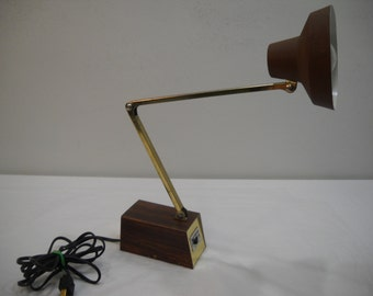 Vintage Tensor Folding Arm Desk Lamp FREE SHIPPING