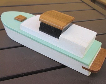 Wooden toy boat Last chance