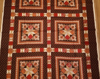 Vintage Fabric Panel Squares