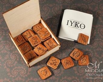 IYKO Oracle Rusty friendly runes DISCOUNT