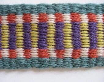 hand-woven wool banjo jarana vihuela strap