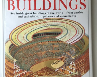 Old Hardcover Books, Old Books For Sale, Used Books For Sale, Books and Zines, First Edition, Amazing Buildings by Dorling Kindersley