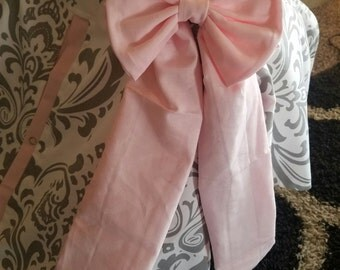 Car seat Canopy fabric bow add on.. Purchase this bow to add to your carseat cover