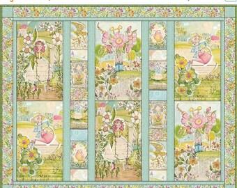 SALE Garden Girls, Quilt Kit, Cori Dantini, Blend Fabric