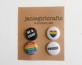 Pride 4 Button Set