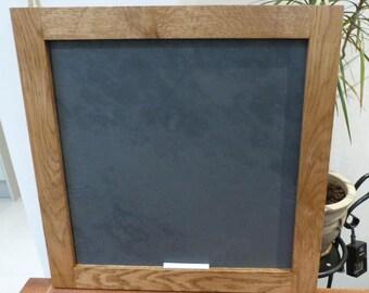 Oak framed slate chalk board