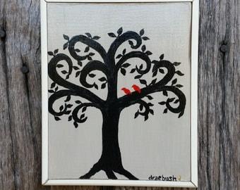 Folk Art Tree Painting