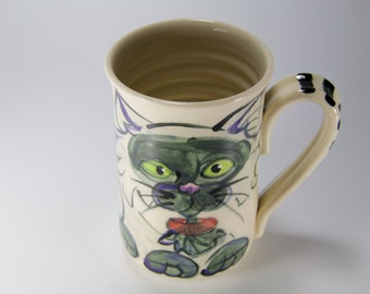 Siamese cat cup cat coffee mug kitty cup kitty mug cat lovers cup