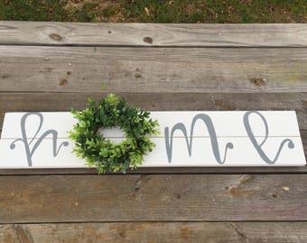Shiplap wreath sign, home sign, farmhouse wreath, fixer upper decor, farmhouse sign, shiplap sign, farmhouse wall decor, farmhoue style
