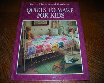 Quilts To Make For Kids From Better Homes and Gardens