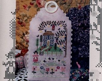 Tournicoton Designs: Rendez-vous à la Maison Bleue (Meet at the Blue House) - Cross Stitch Pattern