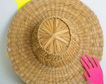 Woven Hat || straw hat, woven hat, beach hat, everyday hat, hat