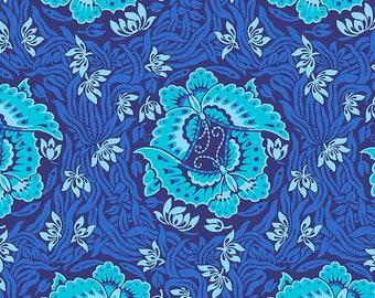 Take Flight - MARINE - PER 25CM - Amy Butler - VIOLETTE - PWAB140 - 100% Cotton Quilt Fabric