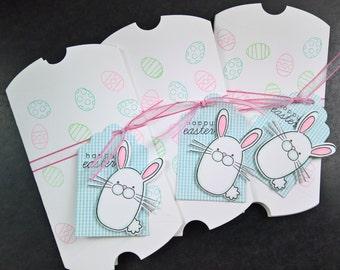 Easter Gift Card Envelope, Gift Card Holder, Easter Pillow Box, Easter Gift Wrap, Easter Candy Box, Bunny Pillow Box
