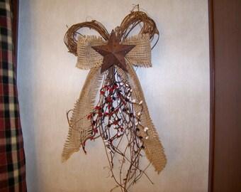 Grapevine Bow Wreath