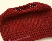 Dashing Messy Bun Hat Crochet Pattern