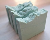 Pumice Exfoliating Soap with Goat's Milk and Silk - clean fresh scent