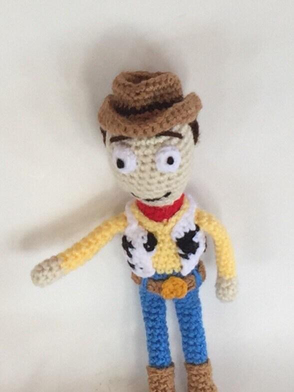 Cowboy Doll Amigurumi woody doll crocheted doll Made to