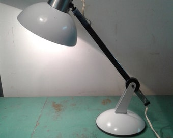 Vintage  desk lamp from the 60s, studio lamp,  Bau Haus office lamp, office decor, study decor,  Mid century lamp