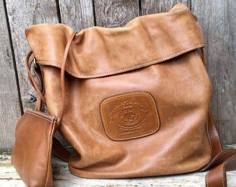 Original Ghurka Cinch Bag No. 78 Marley Hodgson Brown Drawstrimg Purse